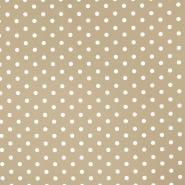 Bombaž, poplin, pike, 17952-022, bež