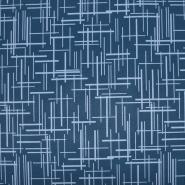 Softshell, velur, geometrijski, 21768-207, temno modra