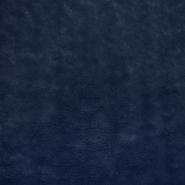 Velur coral, obojestranski, 21769-008, temno modra