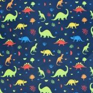 Softshell, velur, živalski, 21770-008, modra