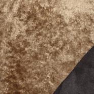 Umetno krzno, obojestranski, 21814-1, rjava