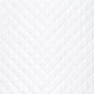 Prošiven materijal, karo, 21665-051, bijela