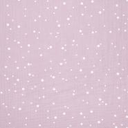 Tetra tkanina, trojna, pike, 21853-012, roza