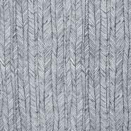 Frotir, prožen, geometrijski, 21861-061, siva