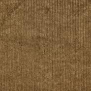 Žamet, bombaž, 21816-098, rjava