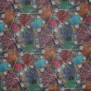 Umetno usnje Flower, 21876-1, večbarven