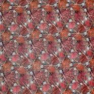 Umetno usnje Flower, 21876-4, opečnato rdeča
