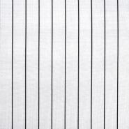 Pletivo, gosto, črte, 21918-19, bela