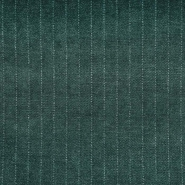 Deko žamet, črte, 21945-5, zelena