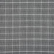 Kostimski, klasičen, karo, 21972-169, črno bela