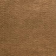 Žamet, bombaž, 21984-329, rjava