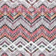 Pletivo, geometrijski, 21776-72, belo roza