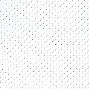 Bombaž, poplin, geometrijski, 22090-16, bela