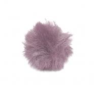 Cof, umetno krzno, 5 cm, 22106-055, roza