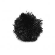 Cof, umetno krzno, 5 cm, 22106-002, črna