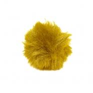 Cof, umetno krzno, 5 cm, 22106-032, rumena