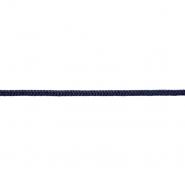 Vrvica, pletena, 6 mm, 18938-020, temno modra