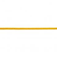 Vrvica, pletena, 6 mm, 18938-061, rumena