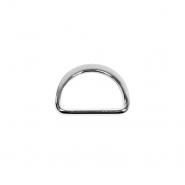 Poluobruč, metalni, 25 mm, 22204-101, srebrna