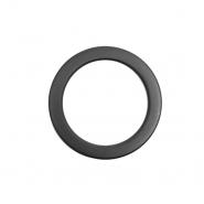 Obroč, kovinski, 65 mm, 22208-130, mat črna