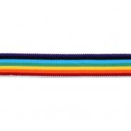 Elastika, okrasna, črte, 25 mm, 22250-1234
