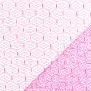 Mreža, prožna, pike, 19002-8, roza
