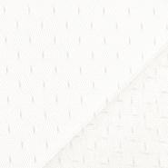 Mreža, prožna, pike, 19002-33, vanilija