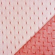 Mreža, prožna, pike, 19002-42, rdeča