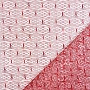 Mreža, prožna, pike, 19002-44, rdeča