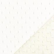 Mreža, prožna, pike, 19002-54, vanilija