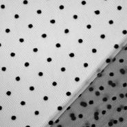 Til mekši, točkice, 22282-2, crna
