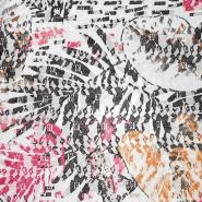 Čipka, prožna, cvetlični, 21776-128