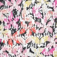 Čipka, prožna, cvetlični, 21776-138