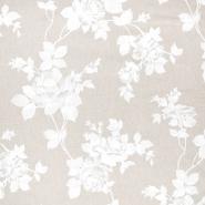 Deko, tisk, cvetlični, 22365-050