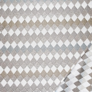 Deko žakard, obostrani, geometrijski, 22724-2, bež