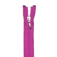 Zadrga, deljiva 60 cm, 6 mm, 18300-349, roza