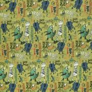 Prevešanka, otroški, 22311-007, zelena