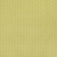 Bombaž, poplin, geometrijski, 22998-1, zelena