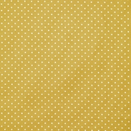 Pamuk, popelin, točkice, 17950-026, oker