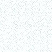 Bombaž, poplin, krogci, 23289-10, svetlo modra
