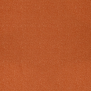 Bombaž, poplin, pikice, 23293-13, opečna