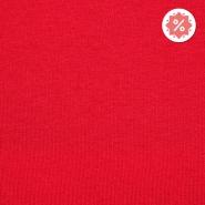 Triko materijal, čupav, 21641-4040, crvena