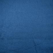 Saten krep, poliester, 18811-008, modra