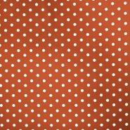 Bombaž, poplin, pike, 17952-030, opečna