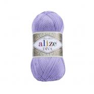 Garn, Diva, 23373-158, lavendel