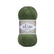 Pređa, Diva, 23373-79, zelena