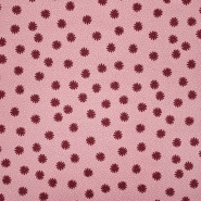 Bombaž, poplin, cvetlični, 23453-001, roza