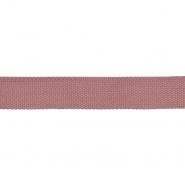 Trak, gurtna, bombaž, 20 mm, 23636-055, roza