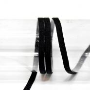 Medicinska elastika, okrogla, 5 mm, 10 m, 23643-10, črna