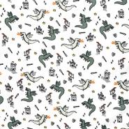 Pamuk, popelin, dječji, 23361-001, bijela